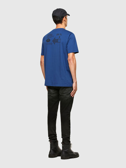 Diesel - T-JUST-A39, Blau - T-Shirts - Image 4