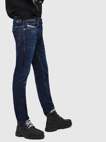 Diesel - Thommer 082AY, Dunkelblau - Jeans - Image 5