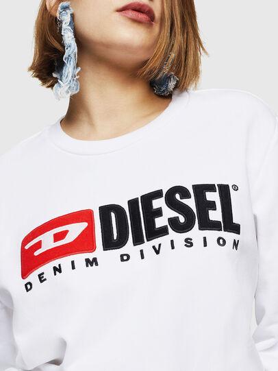 Diesel - F-GIR-DIVISION-FL, Weiß - Sweatshirts - Image 3