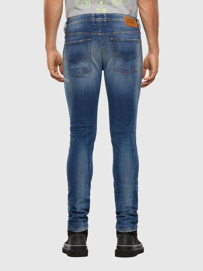 Diesel - Sleenker 009FC, Mittelblau - Jeans - Image 2