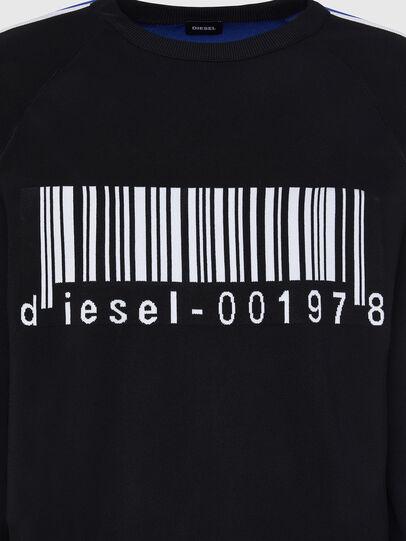 Diesel - K-RUSH, Schwarz - Strickwaren - Image 3