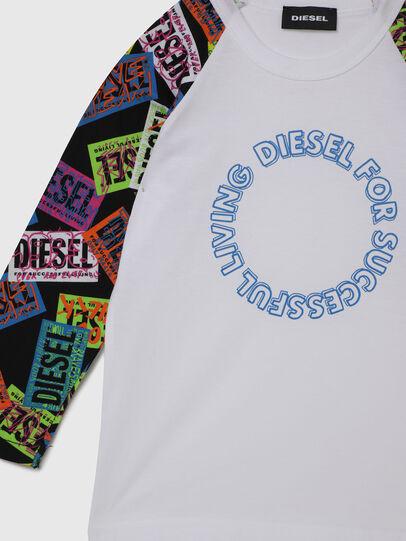 Diesel - TENTYB-R, Weiß - T-Shirts und Tops - Image 3