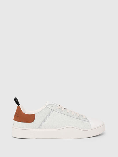 Diesel - S-CLEVER LOW LACE, Weiß/Braun - Sneakers - Image 1