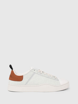 S-CLEVER LOW LACE, Weiß/Braun - Sneakers