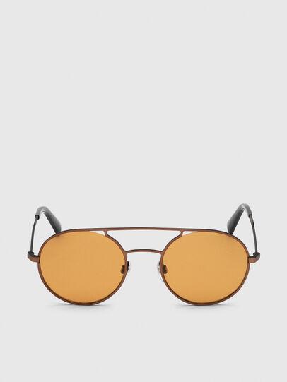 Diesel - DL0301, Orange/Schwarz - Sonnenbrille - Image 1