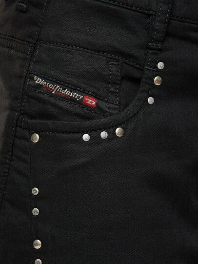 Diesel - FAYZA JoggJeans® 069NC, Schwarz/Dunkelgrau - Jeans - Image 3