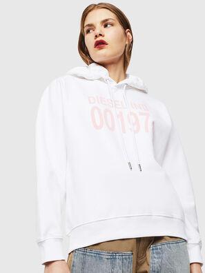 F-ANG-HOOD-J1, Weiß - Sweatshirts