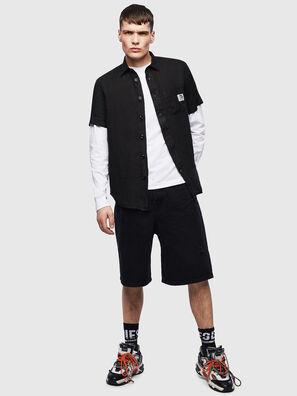 S-KIRUMA-B, Schwarz - Hemden