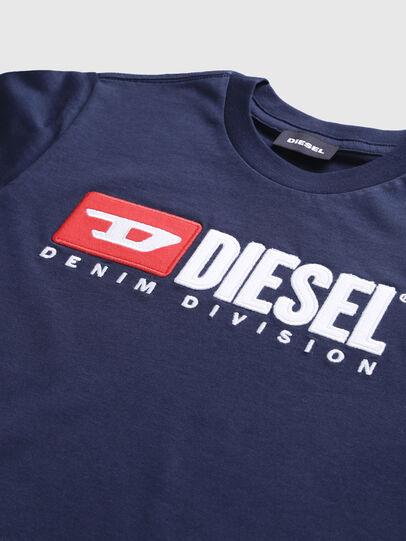 Diesel - TJUSTDIVISION, Dunkelblau - T-Shirts und Tops - Image 3