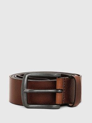 B-LINE, Braunes Leder - Gürtel