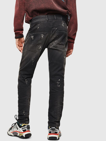 Diesel - Krooley JoggJeans 084AE, Schwarz/Dunkelgrau - Jeans - Image 2