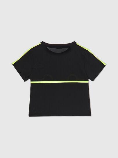 Diesel - UFTEE-ROUNDFEM-M, Schwarz - T-Shirts - Image 2