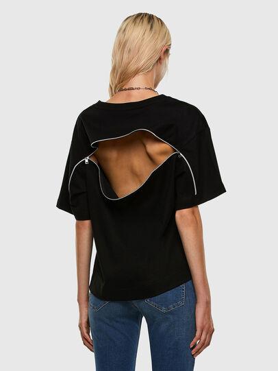 Diesel - T-BOWLY, Schwarz - T-Shirts - Image 6
