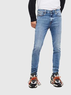 D-Istort 009BG, Mittelblau - Jeans