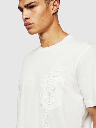 Diesel - T-JUST-POCKET-J1, Weiß - T-Shirts - Image 3
