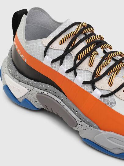 Diesel - S-KIPPER BAND, Weiß/Orange - Sneakers - Image 5