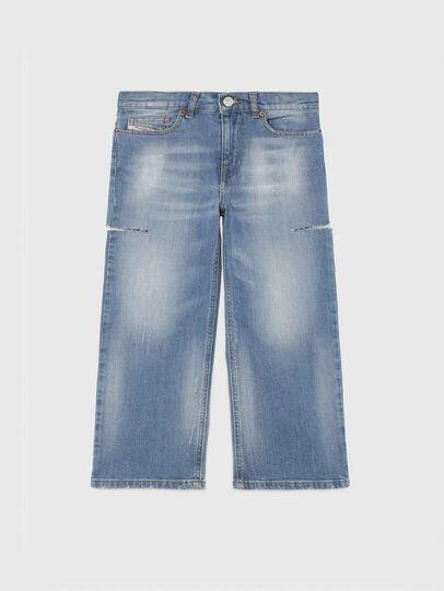 Diesel - WIDEE-J-SP1, Hellblau - Jeans - Image 1