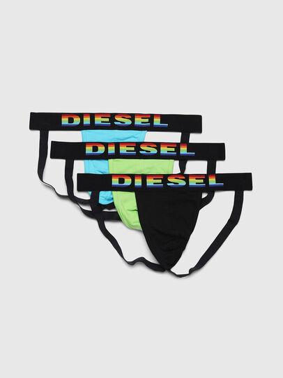 Diesel - UMBR-JOCKYTHREEPACK, Bunt/Weiß - Jockstraps - Image 1