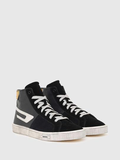 Diesel - S-MYDORI ML, Schwarz/Gelb - Sneakers - Image 2