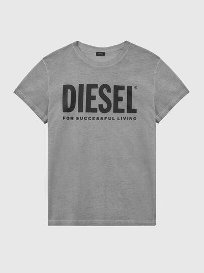 Diesel - T-DIEGO-LOGO, Dunkelgrau - T-Shirts - Image 1