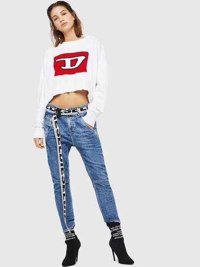 Diesel - Fayza JoggJeans 0870K, Hellblau - Jeans - Image 5