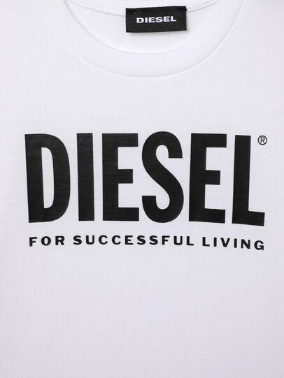 Diesel - TJUSTLOGOB-R, Weiß - T-Shirts und Tops - Image 3