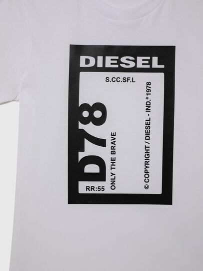 Diesel - TFULL78, Weiß - T-Shirts und Tops - Image 3