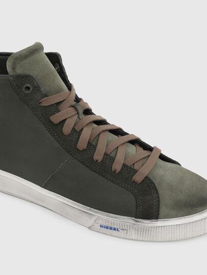 Diesel - S-MYDORI MC, Armeegrün - Sneakers - Image 4