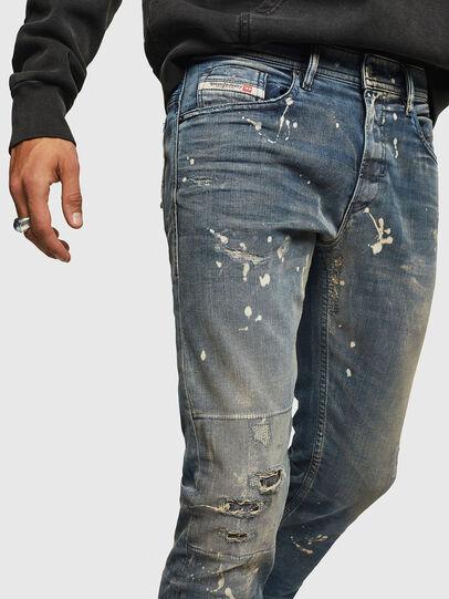 Diesel - Thommer JoggJeans 0870X, Mittelblau - Jeans - Image 3