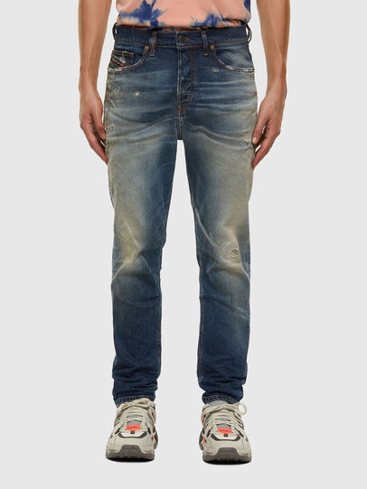 Diesel - D-Vider 009FR, Mittelblau - Jeans - Image 1