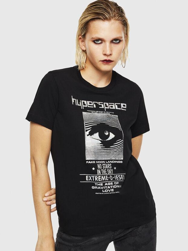 T-SILY-YB, Schwarz - T-Shirts