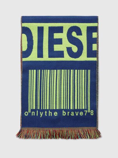 Diesel - S-BARCODE, Blau/Grün - Schals - Image 1