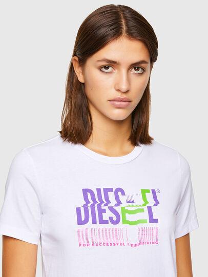 Diesel - T-SILY-K6, Weiß - T-Shirts - Image 3