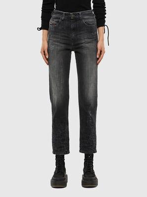 D-Eiselle 009IU, Schwarz/Dunkelgrau - Jeans
