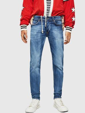 Sleenker 069FY, Mittelblau - Jeans