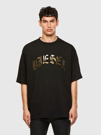 Diesel - T-BALL-A1, Schwarz - T-Shirts - Image 1