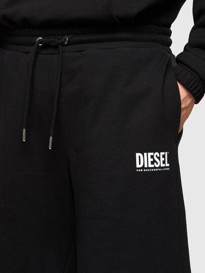 Diesel - P-CROWN-LOGO, Schwarz - Kurze Hosen - Image 3