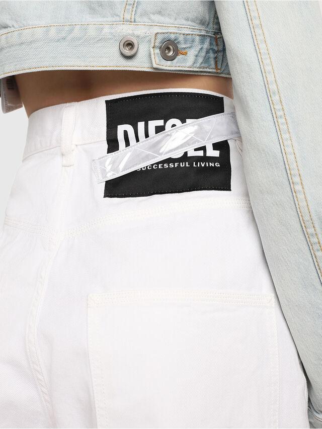 Diesel - D-Luite 069EE, Weiß - Jeans - Image 4