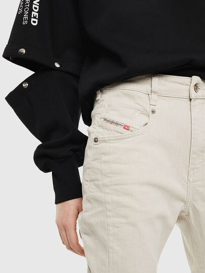 Diesel - Fayza 009BX, Schmutziges Weiß - Jeans - Image 3