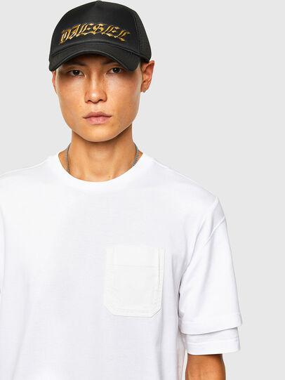 Diesel - T-FONTAL, Weiß - T-Shirts - Image 3