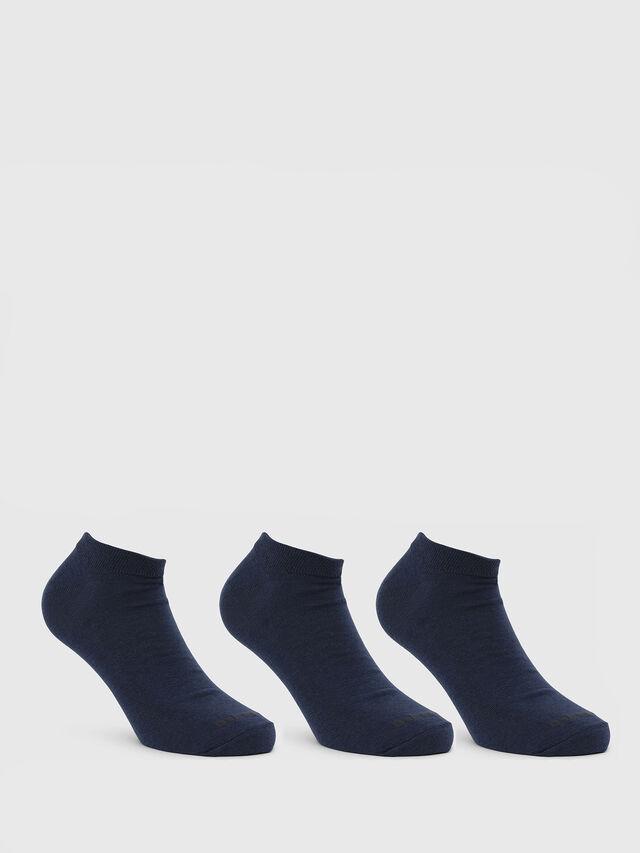 Diesel - SKM-GOST-THREEPACK, Blau - Kurze Socken - Image 1