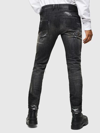 Diesel - Thommer JoggJeans 0098E, Schwarz/Dunkelgrau - Jeans - Image 2