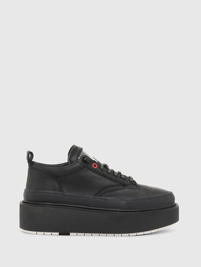 Diesel - H-SCIROCCO LOW LACE, Schwarz - Sneakers - Image 1