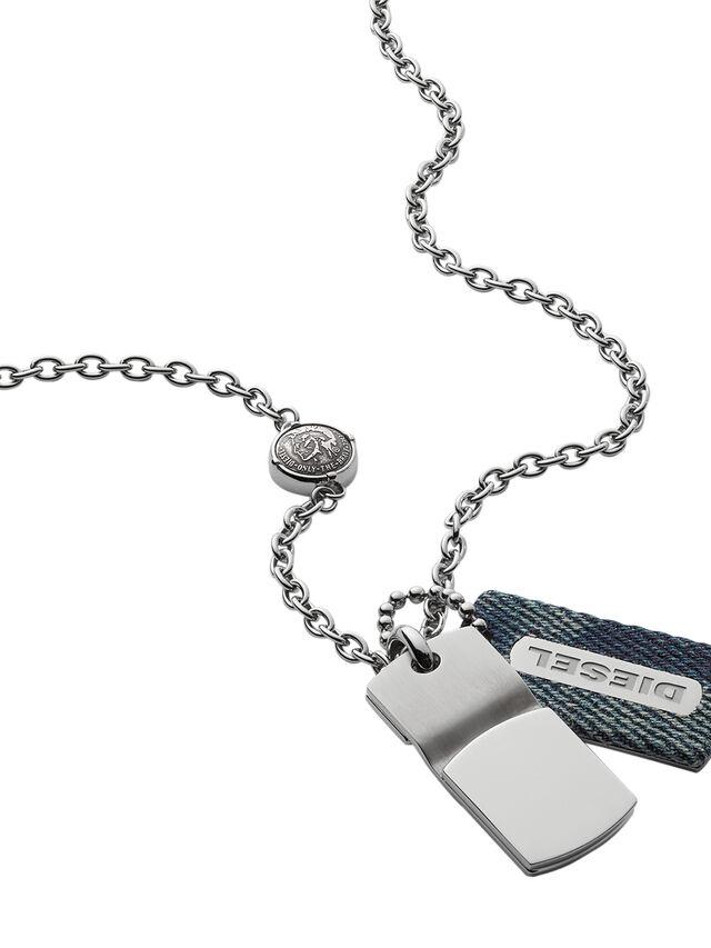 NECKLACE DX0980, Jeansblau