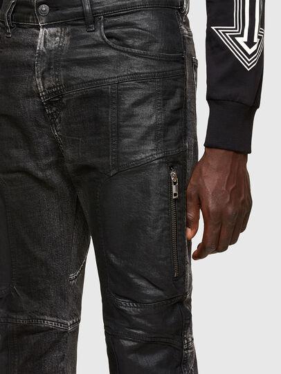 Diesel - D-Vider 009QZ, Schwarz/Dunkelgrau - Jeans - Image 3