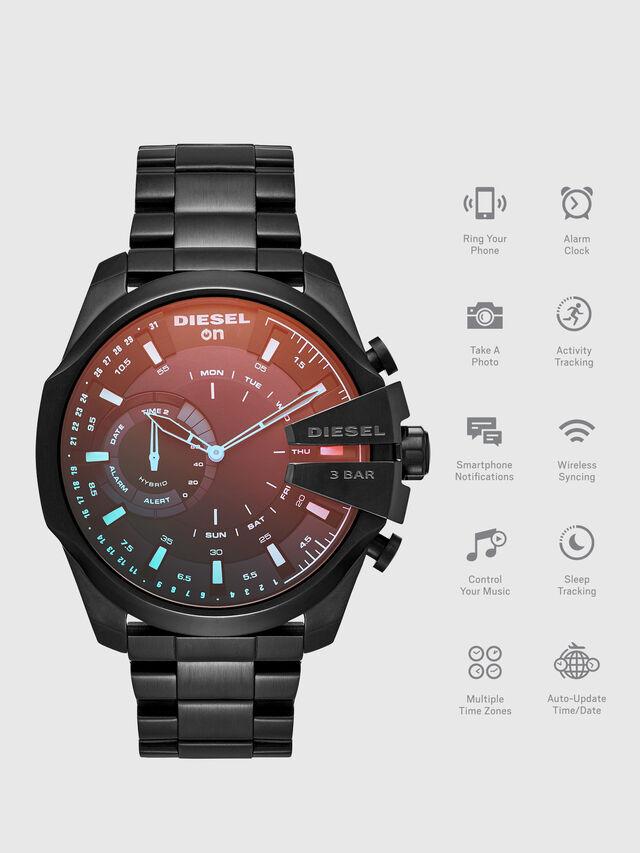 Diesel - DT1011, Schwarz - Smartwatches - Image 1