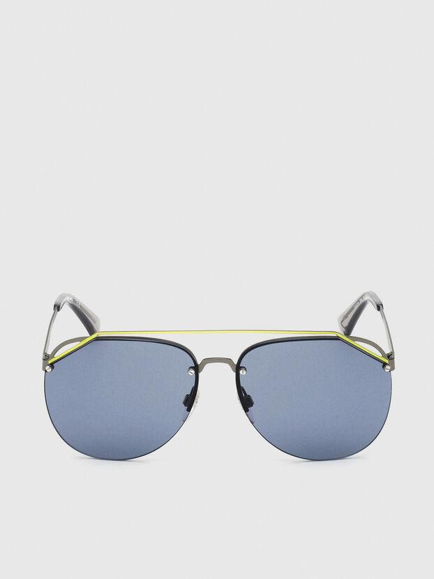 DL0314, Grau/Blau - Sonnenbrille