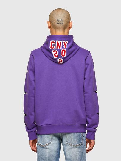 Diesel - CL-S-GIRK-HOOD-O1, Violett - Sweatshirts - Image 3