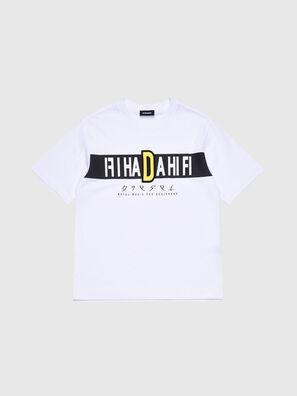 TJUSTYZ OVER, Weiß - T-Shirts und Tops