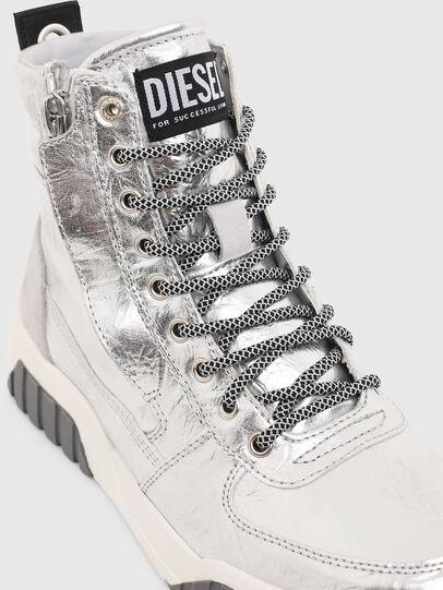 Diesel - S-RUA MID W, Silber - Sneakers - Image 4